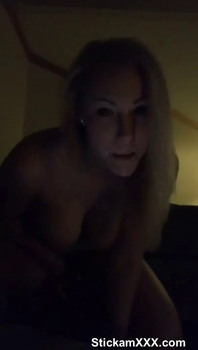 Petite Skype girl take off her clothes - Skype Porn