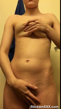 Tiktok babe shows me her wet pussy and perfect tits - Tiktok Porn Videos