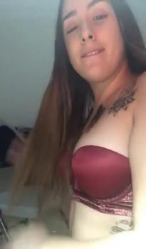 Hot 21 year old sucks and fucks dildo cums quick - Periscope Girls