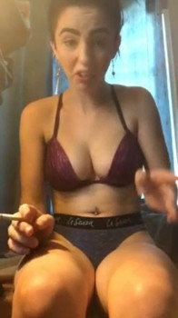 Stepsister Spreading Legs and Fucking With a Dildo - Tiktok Porn Videos