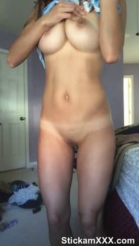 Stunning Blonde Taleri Love Masturbates in Lockdown - Tinder Girls