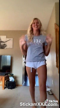 Hazel Takes off her Panties and Shows off her Juicy Pussy - Tiktok Porn Videos