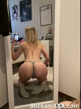 slut plays with her toys and Tiktok fucks her asshole with her buttplug