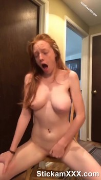 Masturbate pussy and wiped cum pussy with panties - Skype Sex