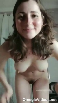 Incredible brunette sweetie shows all of her goods - Omegle Videos