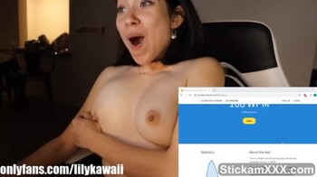 This Omegle girl won't stop sucking - Omegle Videos