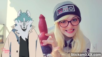 GIRL DREAMS ABOUT HUGE DICK - Stickam Videos