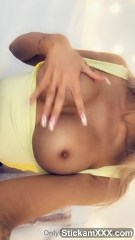 The whore had masturbated for a man - Bigo Live Porn