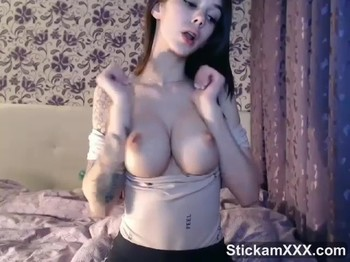 Titty fucking and sucking my Dildo - Bigo Live Porn