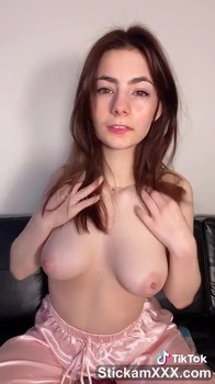 Preparing my pussy for hot fuck with dildo - Tiktok Porn Videos