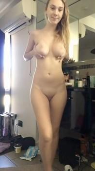 Girl Masturbates Pussy Dildo to Intense Orgasm