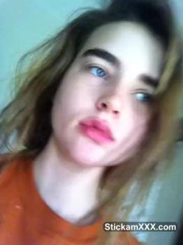 Abby Cums Hard to Wand - Stickam Videos